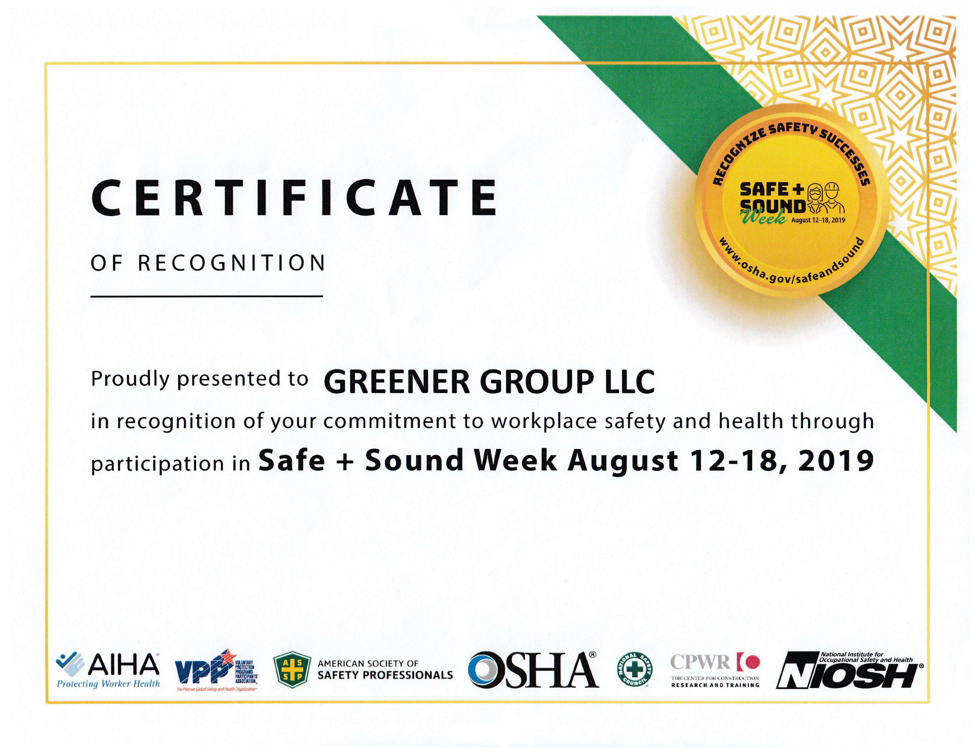 Safe-Sound-Week-0812-0818_CertofRecognition